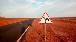 Już tylko kilometry do granicy z Algerią