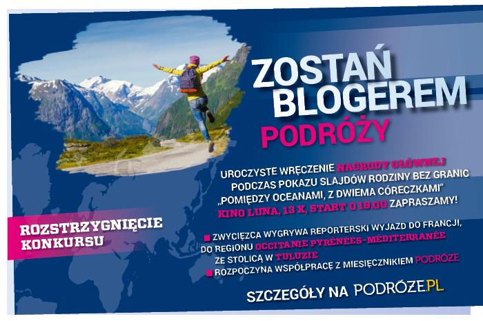 Zostań Blogerem Podróży