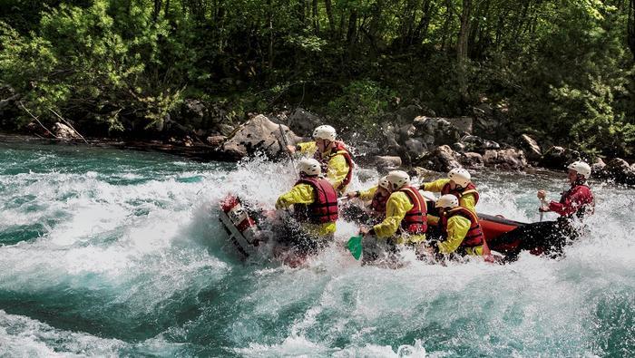 Czarnogóra, rafting na rzece Tara