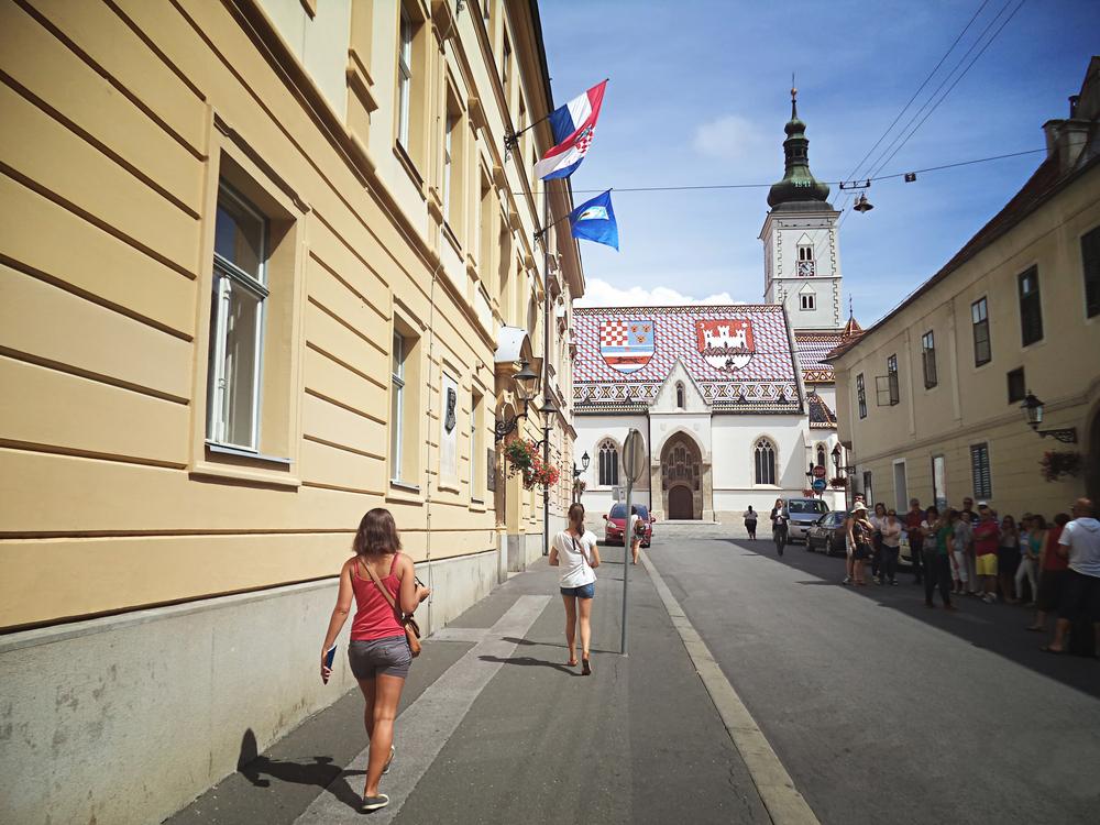 Górne Miasto w Zagrzebiu
